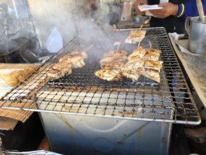 マンボウの串焼き